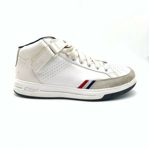 Reebok Mens Classic  Sneakers White Top Lace Up 14